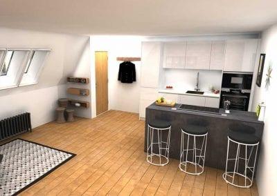 High-Rise Kitchen – Lower Range
