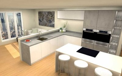 High-Rise Kitchen – Mid-Range 2