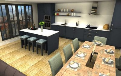 High-Rise Kitchen – Premium Range 2