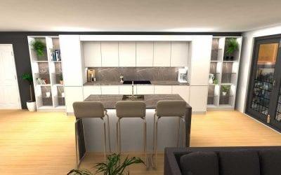 High-Rise Kitchen – Premium Range