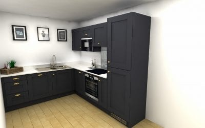 High Rise Kitchen – Mid-Range